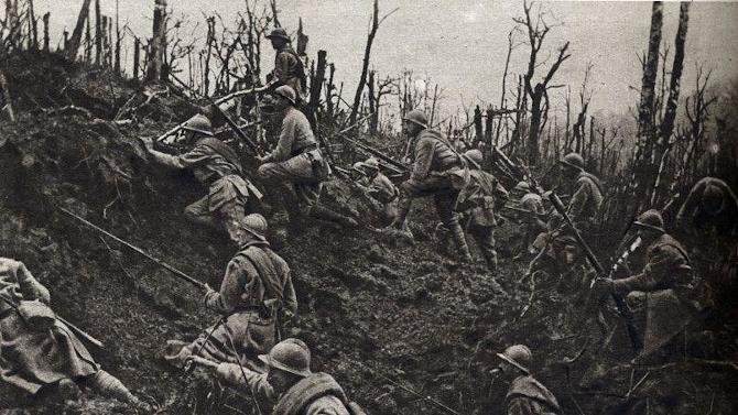 L'offensive du Chemin des Dames au printemps 1917