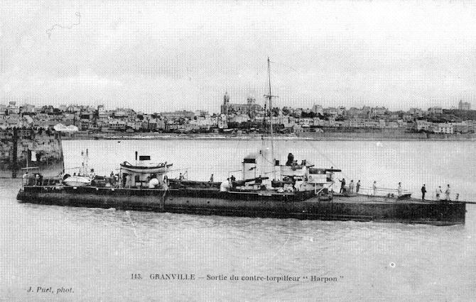 "Contre-torpilleur marin ""Le Harpon"" (1902-1921)"
