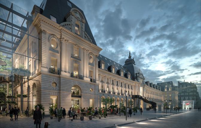 Projet Renaissance Palais du Commerce de Rennes 2025