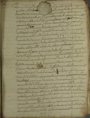 Acte de vente Guignen 1767