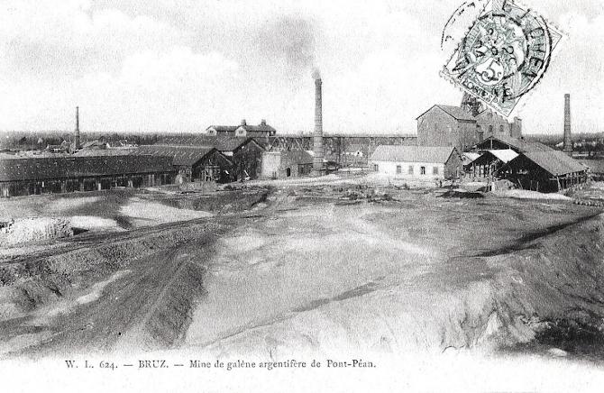 La mine de Pont-Péan près de Bruz