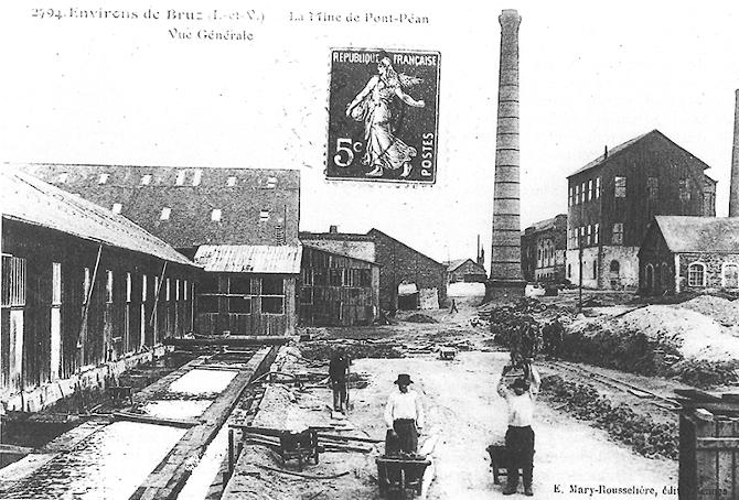 La mine de plomb et d'argent de Pont-Péan